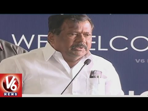 Minister Chandulal Unveil Telangana Tourism Branded SpiceJet Aircraft | Hyderabad | V6 News