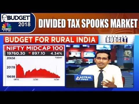 Budget 2018: The Market Verdict   Divided Tax Spooks Market   CNBC-TV18