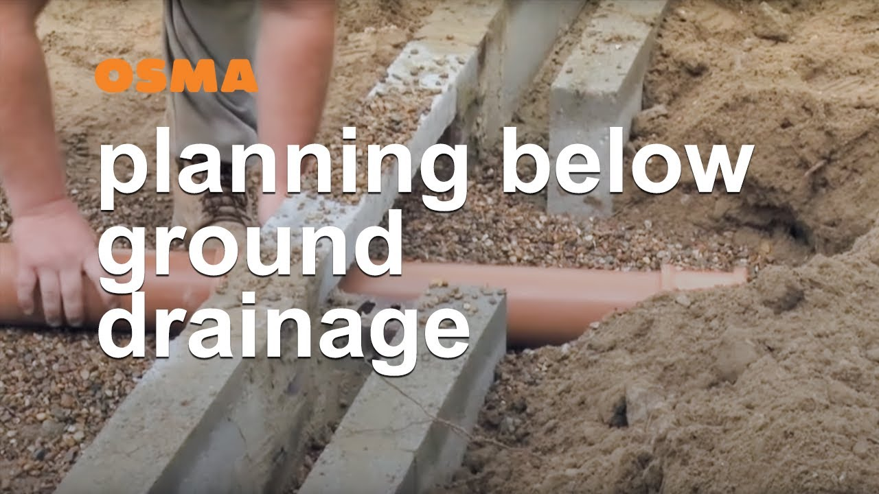 Planning your foul water and below ground drainage system for Below ground drainage systems explained