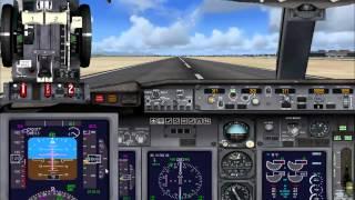 Guida Volo IFR su Flight Simulator X in Italiano - parte 3 (Rullaggio, Decollo e Navigazione)