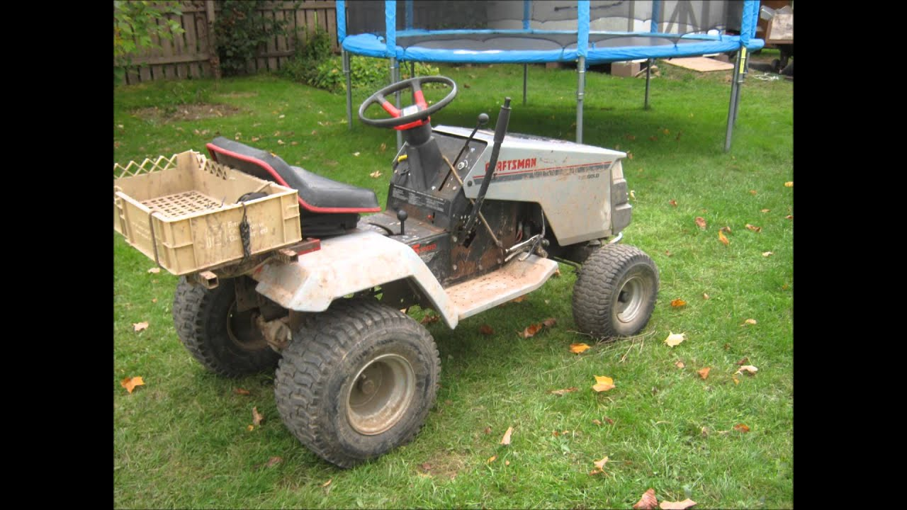 Mtd Mud Mower : Offroad lawn tractors old and new shoutout youtube