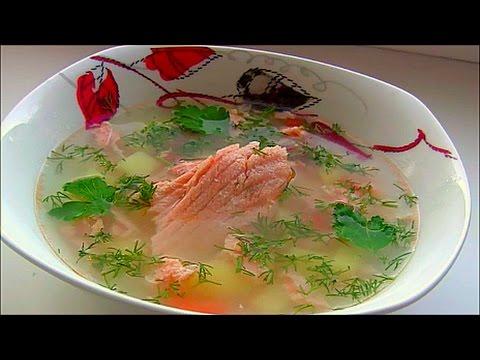 уха с пшеном из красной рыбы рецепты