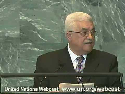 Moment of Truth: H.E. Mahmoud Abbas (Palestine) speaks at 66th UN GA
