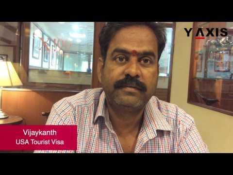 Vijaykanth USA Tourist visa  PC Aarti