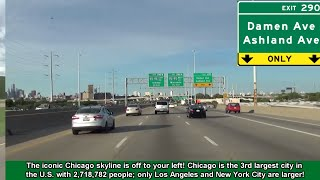 2K14 (EP 22) Interstate 55 North into Downtown Chicago, Illinois