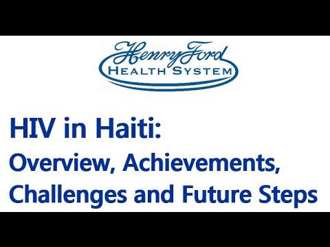 HIV in Haiti Lecture - 7/19/2016