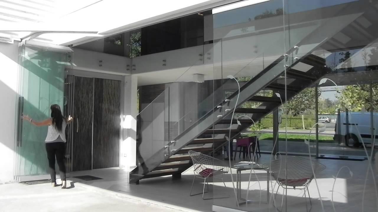 Sigma vd sistema apilable para puertas de vidrio youtube - Puertas de terraza ...