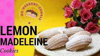 Lemon Madeleine Cookies Recipe | Msdessertjunkie