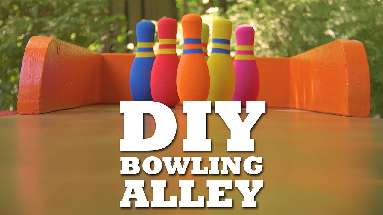 Diy bowling lane youtube solutioingenieria Images