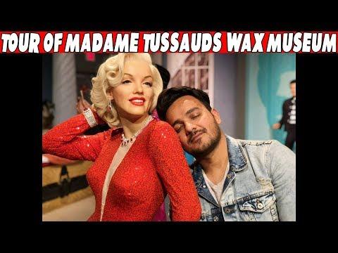 TOUR OF MADAME TUSSAUDS WAX MUSEUM..!!