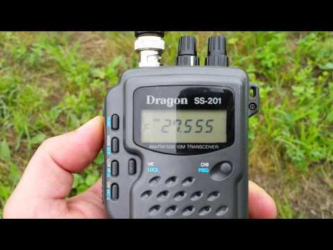 Dragon SS-201 portable cb radio