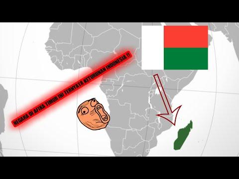 SEJARAH LENGKAP NEGARA MADAGASCAR || NEGARA KETURUNAN INDONESIA !!