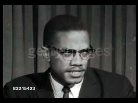 Malcolm X - 1964, October, 7th; London, England, UK