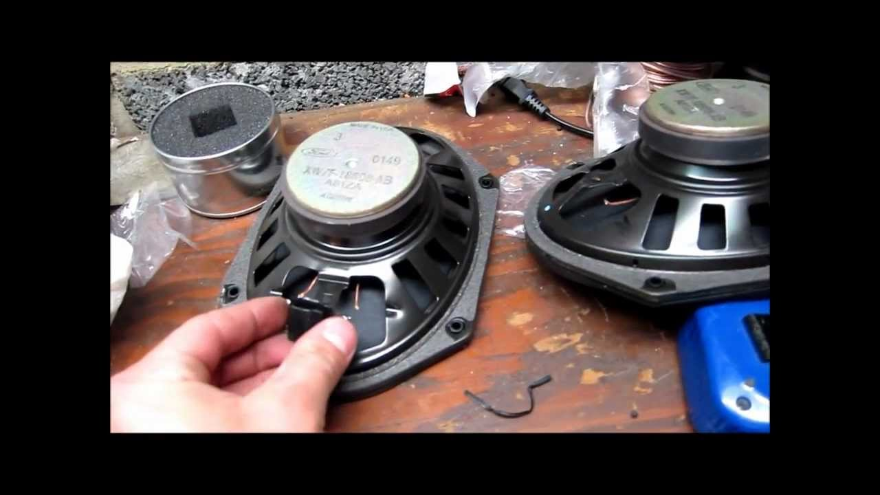 1999 Ford Explorer Rear Door Speaker Change + Hack! - YouTube