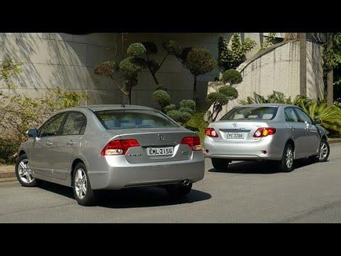 Civic Vs Corolla qual é melhor?