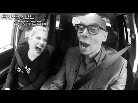 RuPaul Drives... Kristen Johnston