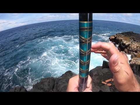 Big Island Ulua Fishing Shore Casting