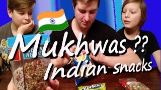 Canadian kids try Indian sweets/ Mukhwas /Magic Masala Lay