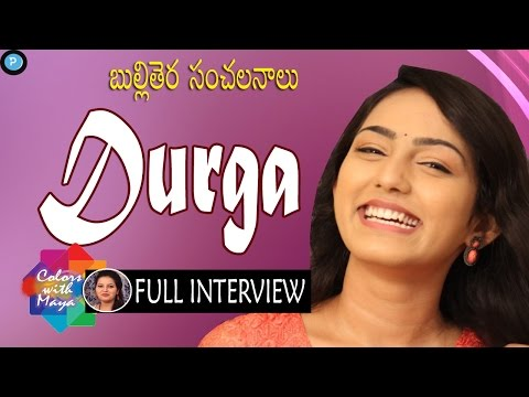 TV Film Artist Durga Full Interview || Colors with Maya