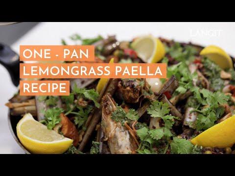 One-Pan Lemongrass Paella Recipe