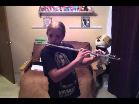 Under The Sea From The Little Mermaid On Flute