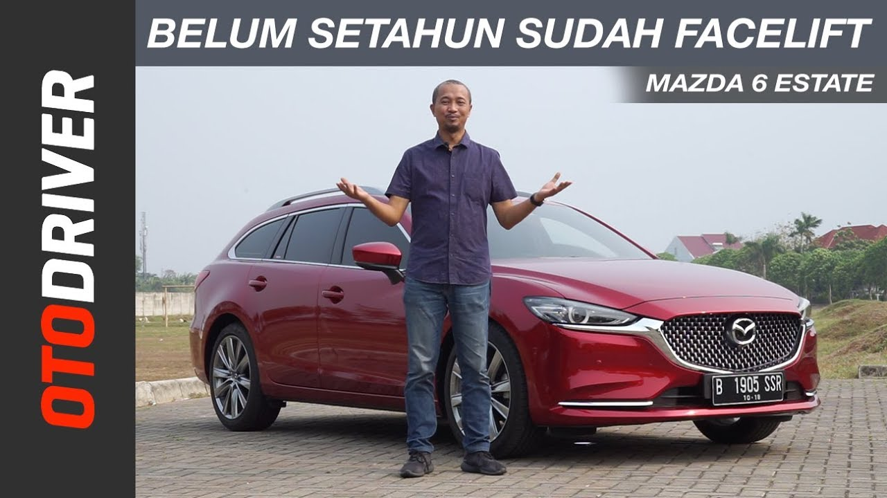 Mazda 6 Estate 2018 Review Indonesia   OtoDriver   Supported by Shopee