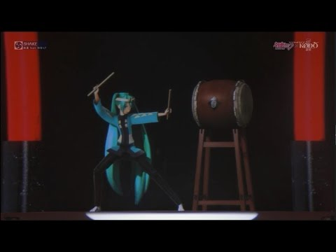 [HD720P] This is NIPPON Premium Theater, Hatsune Miku x Kodo Special Live Performance