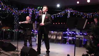 """Lighting Of The Trees Ceremony - The Max Pack   Max Manzanares """"I'll be home by Christmas"""""""