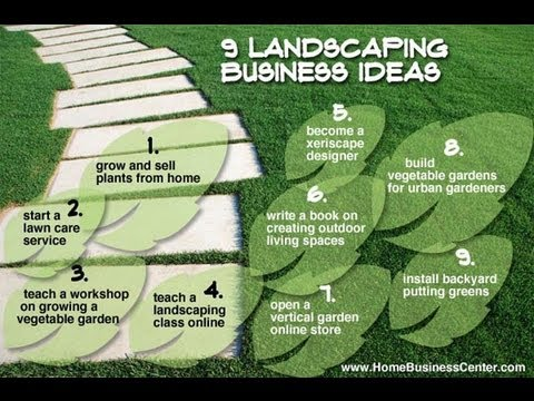 9 landscaping business ideas