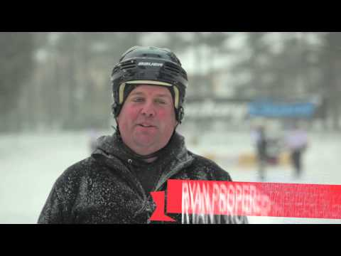 Saratoga Frozen Springs Classic Pond Hockey Tournament Highlights