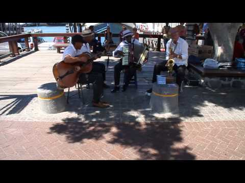 Crazy Jazz Band at Waterfront in Cape Town, South Africa; February 2014
