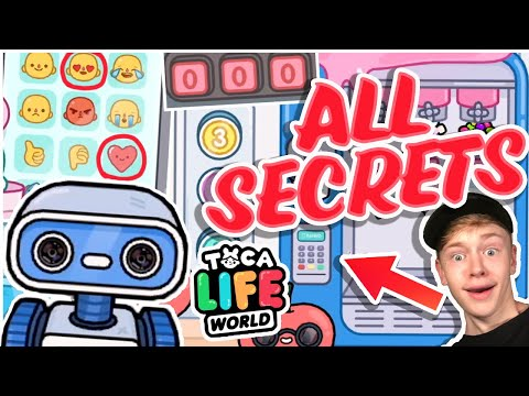 ALL THE SECRETS IN TOCA LIFE WORLD MALL!!!