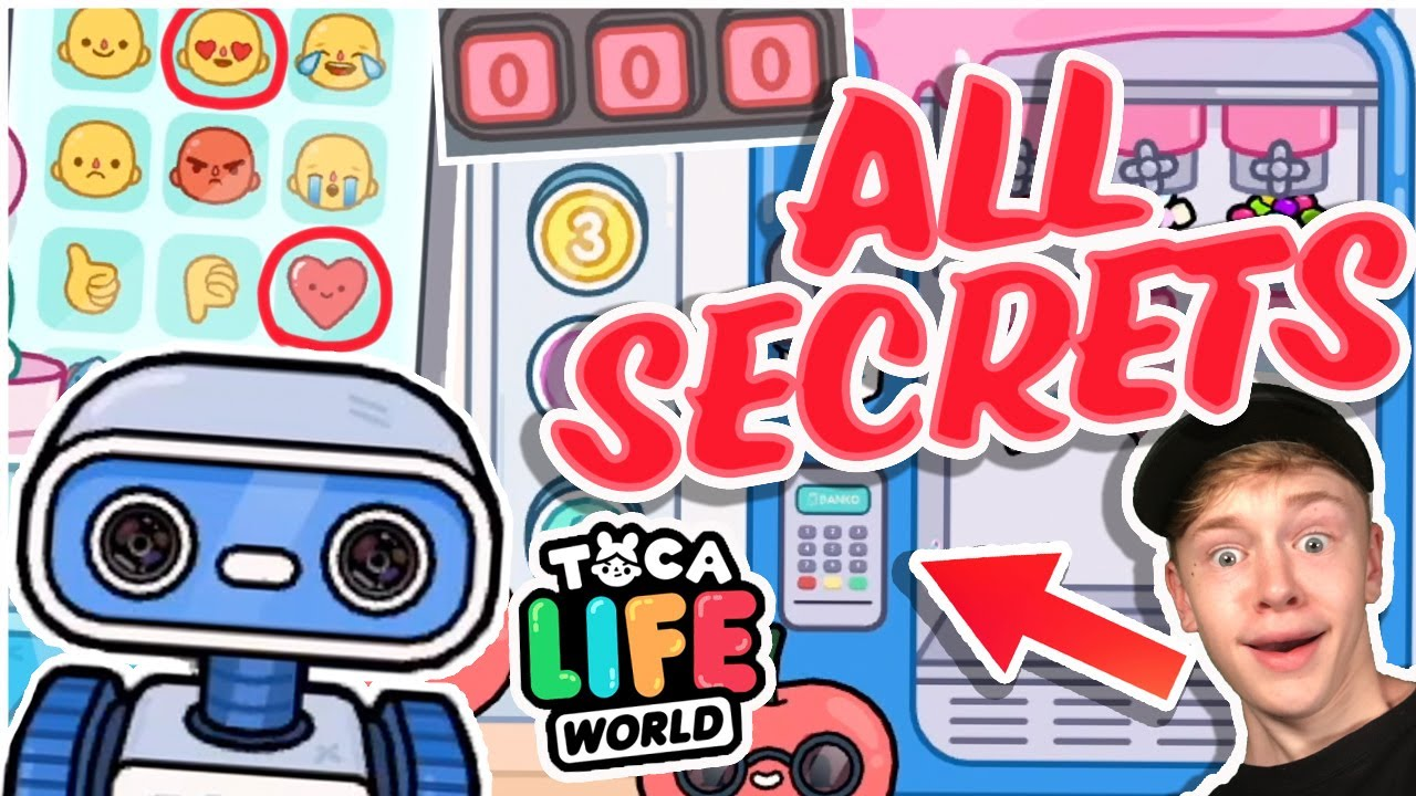 Download ALL THE SECRETS IN TOCA LIFE WORLD MALL!!!