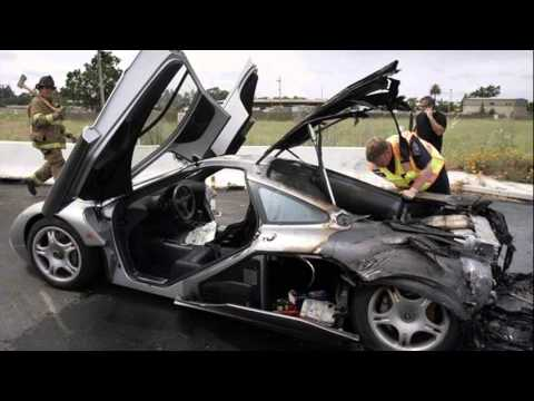 mclaren f1 crash - youtube