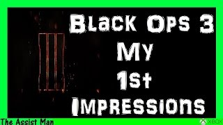 Call Of Duty Black Ops 3 Gameplay - My FIRST Impressions Of The Game Mini-Review