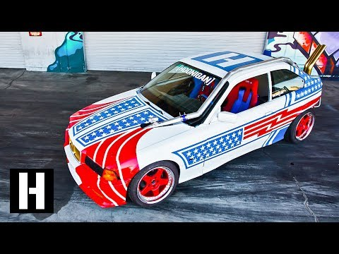 Sh*tcar Reaches Final Form!! NOS Install, All New Spraypaint, and Hotboi Details