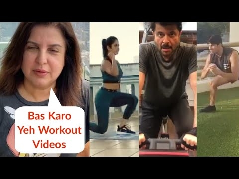 Farah Khan SLAMS Katrina, Karan, Sidharth, Bollywood Stars For Their Workout Videos