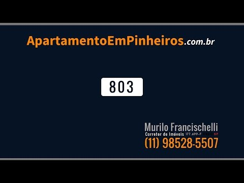 APARTAMENTO EM PINHEIROS – LOCAÇÃO – 64m² / 2 Dorm  / 1
