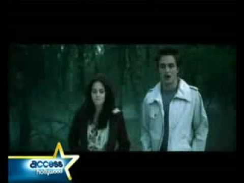 Twilight - deleted scene [Part 2] (Bella and Edward in the forest)