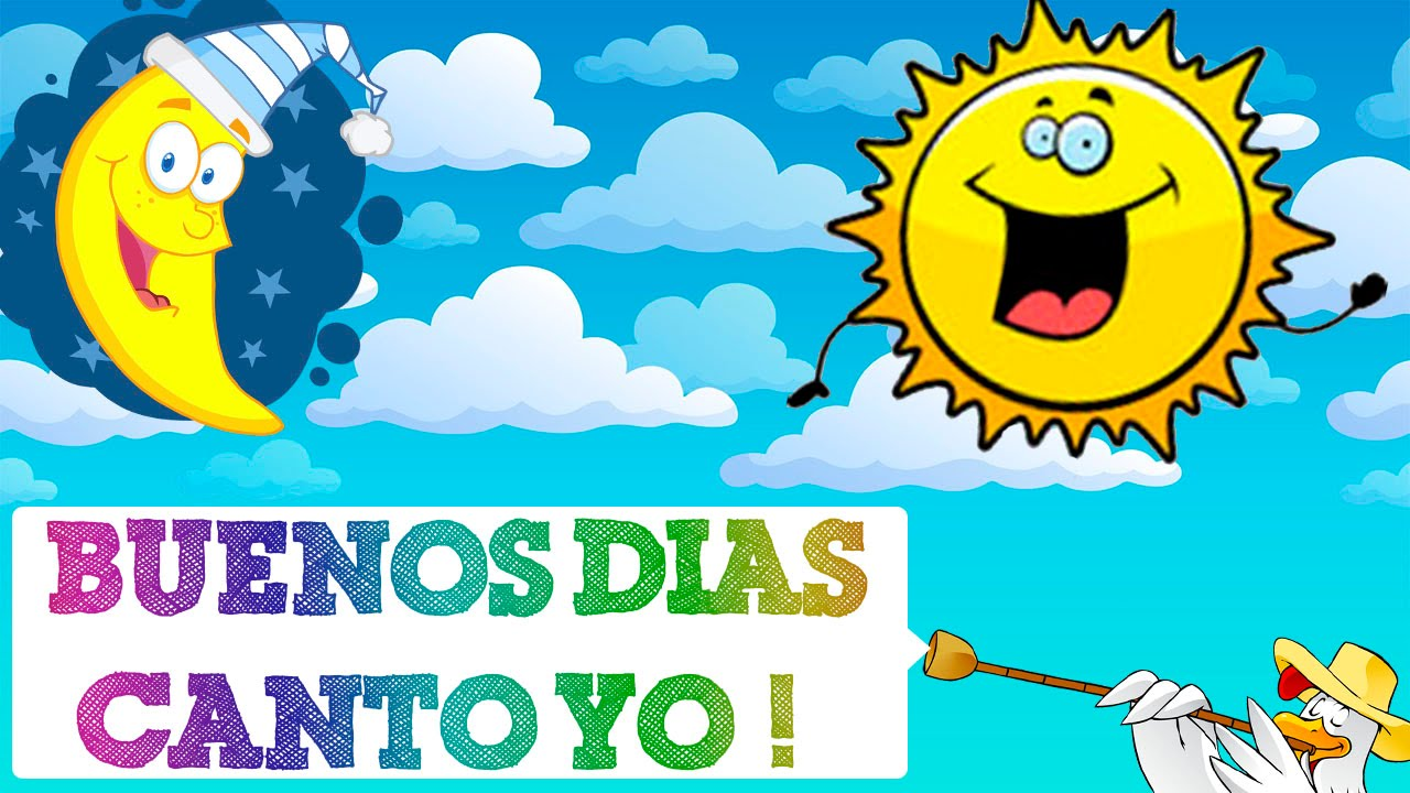 Cancion infantil buenos dias canto yo videos de musica for Cancion infantil hola jardin