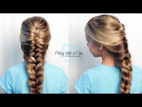 How to do a Goddess (Mermaid) Braid | Long Hairstyles | Pretty ...