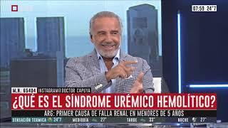 El Consultorio del Dr. Capuya: ¿Qué es el síndrome urémico hemolítico? (parte 1)