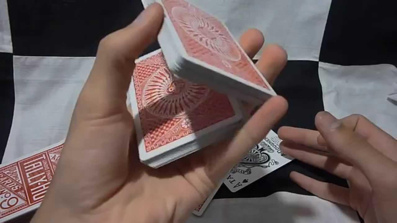 Как красиво тасовать карты(Riffle Shuffle) In The Hands