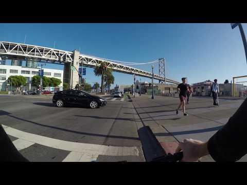 San Francisco: Biking From Potrero Hill To Embarcadero (My Daily Commute)