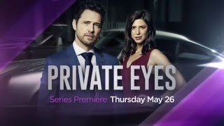 Private Eyes  GlobalTV Trailer