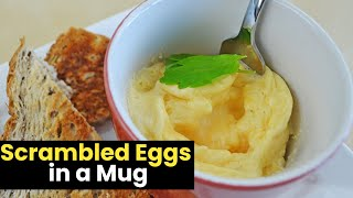 Ridiculously Easy Scrambled Eggs In A Mug
