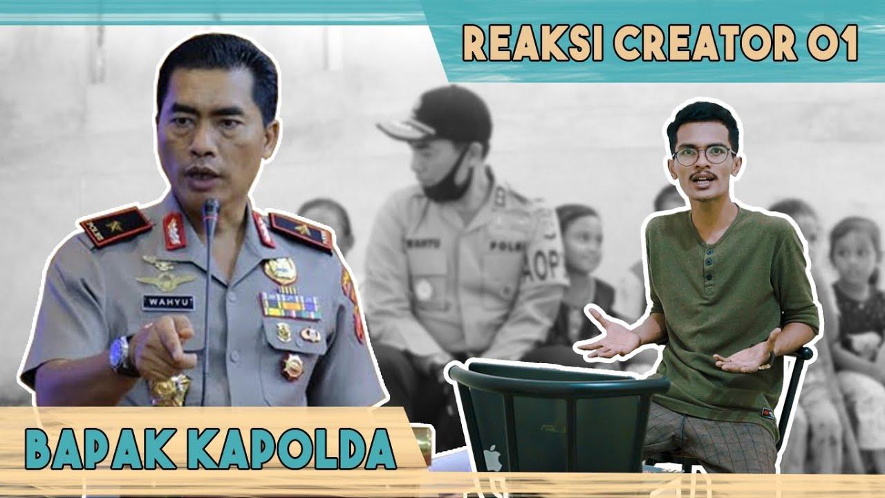 Teuku Mail - Reaction Creator 01 | Bahasa Acehnya Bapak Kapolda Aceh Yang Baru !