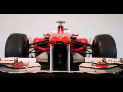 Ferrari F150 Italia Signed by Fernando Alonso F1 1:5 Scale Model Amalgam Collection