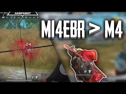 This is why the M14 is better than the M4. // Rules of Survival