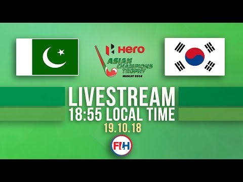 Pakistan V Korea | Men's 2018 Hero Asian Champions Trophy | FULL MATCH LIVESTREAM